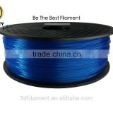 ABS fluorescent blue reliable producer premium filament for 3D print consistent tolerance 0.02mm RoHS OEM