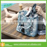 Trendy Leisure Ladies Mesh Shopping Bag for Swimming Beach and Daily Use