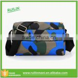 Camouflage Cotton Canvas Messenger Bag Men's Satchel Messenger Bag With strong Straps