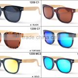 MR WOOD bamboo sunglassess mixed color wholesale polarized bamboo sunglasses natural bamboo eyewear