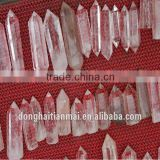 Natural Clear Quartz Crystal Wand for Sale / Wholesale Short Quartz Crystal Point Wand / Tibetan Healing Crystal wand