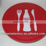 plastic beer serving trays anti-slip tray for hotel