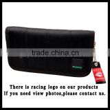JDM Style Sports Wallet Racing Canvas Wallet For Men And Women JDM Racing Wallet Long Black
