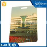 Offset Printing cheap price 13.56mhz contactless school id cards with hole punching