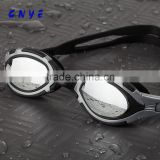 2015 new arrivel best UV-shield mirror coated waterproof swimming goggles wide vision glasses