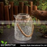 lighting and lamp sun jar light glass bottle high power led lamp with hemp rope, waterproof chinese lamp