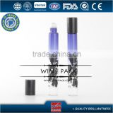 7ml,8ml,10ml silk screen handlin graduated color roller bottle,personal care glass roll on bottle