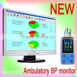 24 hour BP measurement interval recording Ambulatory Blood Pressure Monitor ABPM with free cuff