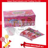 Foot Shape Lollipop with Sour Powder Candy