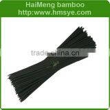 Bamboo flower sticks with dyed green,coffee,black color