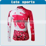 2013 china unique custom wool cycling jersey cycling clothing bicycle jersey cycling winter wear womens