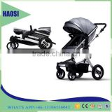 Sliding baby carriage / baby prams luxury baby carriage 3 in 1 / strong kids baby stroller on sale