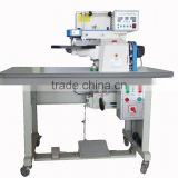 LZ- electronic automatic folding machine /cnc hot-cement leather edge folding machine