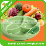 non-toxic Kids bowl of 3 parts Silicone food serving bowls