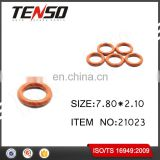 Tenso Fuel Injector O-rings Fuel Injector Repair Kits NBR Viton Oring 21023 7.80*2.10