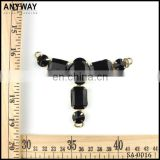 New arrival black rhinestone shoe buckle stone ornament shoe accessory