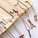 Creative Cute Hollow Wood Ruler 15cm For Students