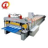 Hot sale trapezoidal roof sheet roll forming machine