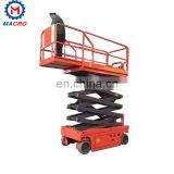 Mobile Scissor Lifting Platform 6m Aerial Working Platform Scissor Liftsafe Lift Table Scissor Type