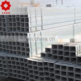 50um galvanized Q235b material carbon steel hollow section in structure building usage