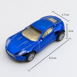 4 Style 8 Color Mixed Dice Cast Car/ 8cm Long Die Cast Small Model Car Toy for Kids