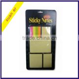Factory direct different letter shaped sticky notes made in china
