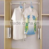 wardrobe accessories multifunction lifting cloth rack set