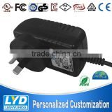 universele ac 220v dc power adapter 48v 0.38a power switching supply 18 watt with EU, UK, US,KR,AU type ac plug