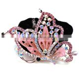 Hot Retro Hair Clip Hairpin Crystal Lovely Butterfly Hair Claw European And American New Fashion Head wear Jewelry