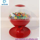 Hot selling Manual induction automatic out of sugar Candy Distributor candy machine gumball machine confectionary machine