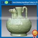 The Chinese Characteristic The Ancient Ceramic Teapot With Phoenix Deserve To Act The Role Of The Head