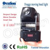 Hotselling Small Stage Lighting Dj Equipment 10 Watt Rgbw 4in1 Led Beam Mini Moving Head Light stage light