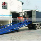 truck loading ramp mobile hydraulic container dock loading ramp for forklift ramp                                                                                                         Supplier's Choice