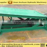 0.5~1.6m, 10 ton container unloading ramp /mobile loading yard ramp for sale /hydraulic loading ramps for trucks