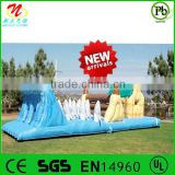For kids entertainment attractive outdoor homemade playground inflatable obstacle equipment