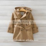 fashion boys boutique clothes winter coat handsome boys wind coat Double-breasted