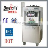 2015 Hot Sale floor commercial stainless steel frozen yogurt single Flavour soft sever instant Ice Cream making Machine