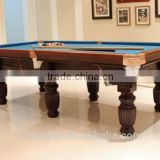 Economic 8ft MDF billiard table,classic type 8 ball pool table on sale