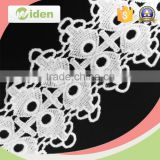 Dress fabric supplier mesh flower lace fabric chemical lace                                                                                                         Supplier's Choice