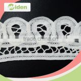 Widentextile Welcome OEM Free Sample Available Newest Arrival Fancy Pattern Battenburg Lace Trim