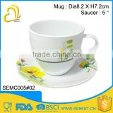 best selling sets melamine handle tea cup                                                                         Quality Choice