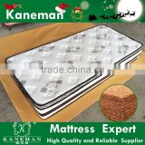 Ultra firm coconut coir fiber and bonnell spring mattress no compressed package                                                                                                         Supplier's Choice