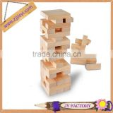 Educational toys kindergarten custom wood wooden jenga blocks