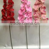 silk red artificial butterfly orchids flowers stand for sale