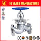 low price DIN standard Y pattern bellow sealed globe valve