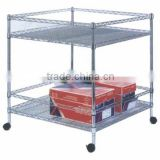 NSF certificated French wire shelves Freezer wire shelf rack Folding wire shelf