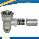 Press Wall Plated Brass Male Elbow - 310008