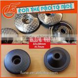 Lightweighth Customized BMX Cycle Top Cap Carbon