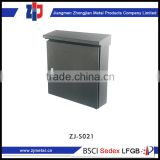 Low Cost High Quality decorative outdoor cast iron mailbox