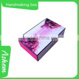 Hot sell guangzhou promotion product hardcover paper gift case with customized design, DL193